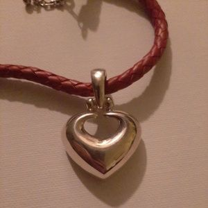 Sterling Heart Shaped Necklace